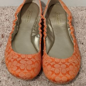 Coach Aly Ballet Flats Size 7.5B